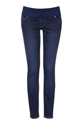 Topshop Maternity Tall Vintage Leigh Jeans Blue