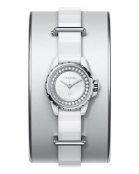 Chanel J12 Xs White Small Cuff Watch