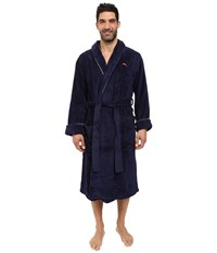 Tommy Bahama Swing Shift Plush Robe Coastline Navy Men's Robe