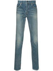 Saint Laurent Classic Skinny Fit Jeans Blue