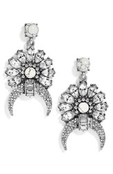Baublebar Women's Isadora Drop Earrings Antique Silver