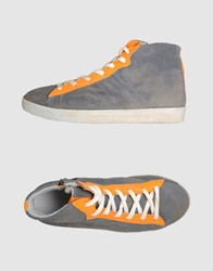 Keep High Top Sneakers Orange