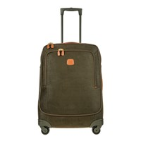 Bric's Life Carry On Trolley Suitcase Olive Tan 65Cm
