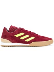 Gosha Rubchinskiy X Adidas Side Stripe Sneakers Red