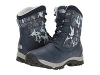 The North Face Thermoball Utility Cosmic Blue High Rise Grey Men's Boots