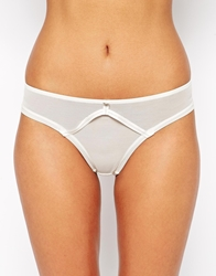 Ultimo The One Ana Caged Brazilian Brief Ivory