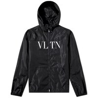Valentino Vltn Windbreaker Black