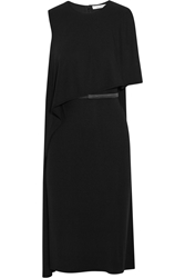 Givenchy Belted Draped Dress In Stretch Crepe