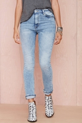 Nasty Gal Res Denim Wanda High Waist Jean