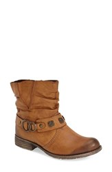 Women's Rieker Antistress 'Peggy' Boot Cayenne Brown Leather