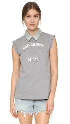 N 21 Sleeveless Top Grey