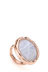 Monica Vinader Siren Cocktail Ring Blue