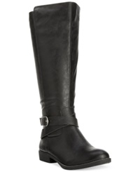 Style And Co. Madixe Casual Riding Boots Only At Macy's Women's Shoes