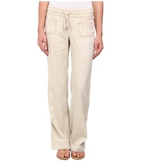 Christopher Blue Darcy Pant In Natural Natural Women's Casual Pants Beige