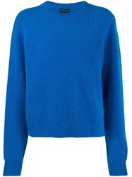 Frenken Crew Neck Sweater Blue