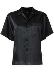 G.V.G.V. Satin Shortsleeved Shirt Black