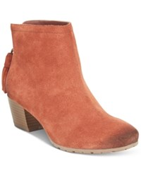 Kenneth Cole Reaction Women's Pilage Booties Women's Shoes Rust