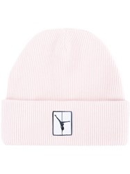 Alexander Wang Ribbed Beanie Pink Purple