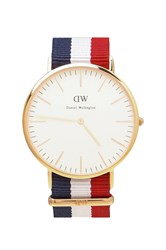 Daniel Wellington Cambridge 40Mm Red