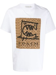 Coach Rexy By Guang Yu T Shirt White