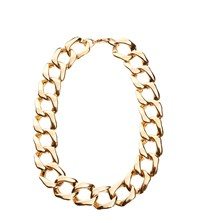 Gogo Philip Classic Linked Chain Necklace Gold