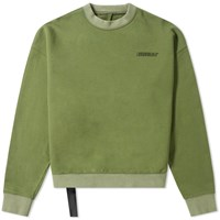 Unravel Project Motion Logo Crew Sweat Green
