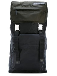 Marni Dual Buckle Backpack Black