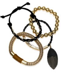 Thalia Sodi 4 Pc. Bracelet Set Only At Macy's Gold