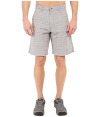 Mountain Khakis Boardwalk Plaid Short Firma Men's Shorts Gray