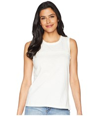 Lilla P Jewel Neck Shell White Clothing