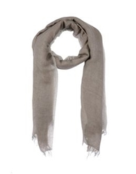 Messagerie Oblong Scarves Dove Grey