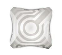 Slamp Venti Wall Ceiling Light Small 14.25 In Width White