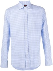 Massimo Piombo Mp Gingham Print Shirt 60