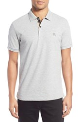 Men's Burberry The Britain 'Abown' Short Sleeve Polo