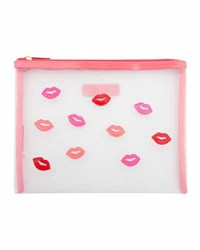 Lolo Bags Stanley Scattered Kisses Mesh Pouch
