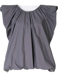 Sofie D'hoore Sleeveless Balloon Top Purple