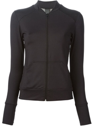 Norma Kamali Stand Up Collar Sweatshirt Black