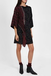 3.1 Phillip Lim Multi Print Kimono Dress Black