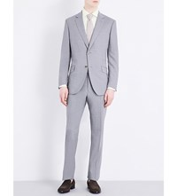 Richard James Regular Fit Stretch Wool Suit Grey