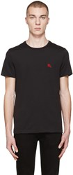 Burberry Black Tunworth T Shirt