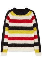 Paper London Mona Striped Knitted Sweater Cream