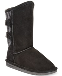 Bearpaw Boshie Cold Weather Boots Women's Shoes Black