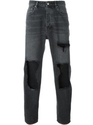 Golden Goose Deluxe Brand Ripped Jeans Grey