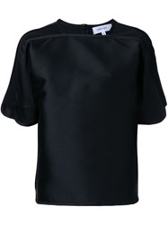 Carven Short Sleeve T Shirt Black