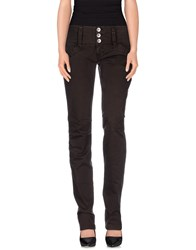 Nolita Denim Denim Trousers Women Dark Brown