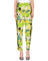 Karl Lagerfeld Trousers Casual Trousers Women Acid Green