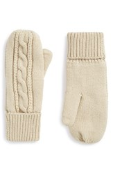 Junior Women's Bp. Cable Knit Mittens