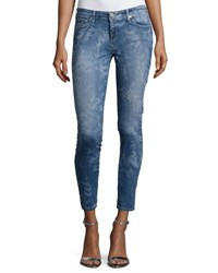 Ag Jeans The Legging Ankle Printed Blue Wwf Bue