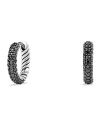 Pave Huggie Earrings David Yurman