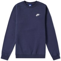 Nike Club Crew Sweat Blue